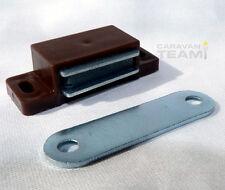 HEAVY DUTY MAGNETIC CATCH FOR CUPBOARDS & DOORS ON CARAVANS, MOTORHOMES, BOATS,