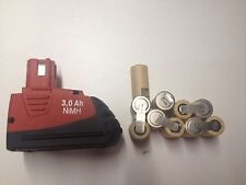 1 kit battery batterie bateria hilti SFB 121 3 Ah ( no box) only 1 ack 10 cells