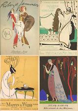 23 Rare Volumes Of Art Deco Fashion Design Magazines (Gazette Du Bon Ton) On Dvd
