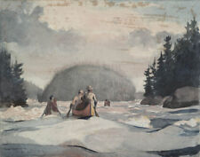 Homer Winslow Ile Malin Canvas 16 x 20 #7449