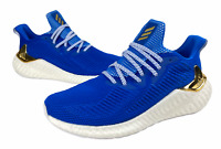 Adidas Mens Alphaboost M Casual Running Blue Shoes Size 9.5 G54130 NWT