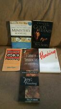 Spiritual Learning & Preaching Lot of 5 Books & a FREE Book & Brochure