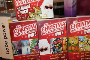 the christmas dvd collection 10 movie pack (2009) used