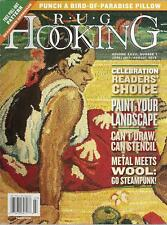 Rug Hooking Magazine Back Issue Volume XXVII, #1, June/July 2015