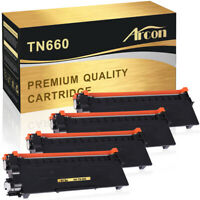 4 Pack Fit for Brother TN660 Toner MFC-L2700dw MFC-L2740d HL-L2360dw DCP-L2540DW