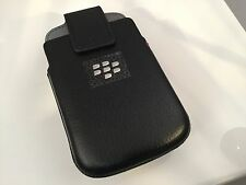 Blackberry Porsche Design P'9983 Leather OEM Holster Magnetic Top Swivel Clip