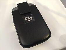 Blackberry Porsche Design P'9983 Leather OEM Holster Magnetic Top Swivel Clip