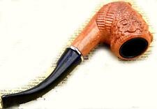 Pipa per fumare con fornello metallico tipo pipe savinelli peterson radica