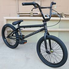 "2018 WE THE PEOPLE BMX BIKE ARCADE 20"" MATTE BLACK BICYCLE FIT CULT KINK SUNDAY"