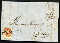 ITALY LOMBARDY VENETIA to ESTE cover 1861