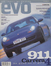 EVO 12/1998 Issue 2 featuring BMW M5, Panther Six, Porsche TVR, Audi, MG 6R4