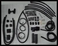 Lambretta LI TV Series 1 2 Complete Black Rubber Kit New High Quality