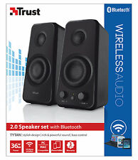 NUOVO TRUST 20122 TYTAN 36W picco 18W RMS Bluetooth ALIMENTAZIONE USB ALTOPARLANTI 2.0 Set