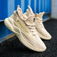 New mens/womens breathable non-slip wear-resisting shoes Fly weave Men's shoes