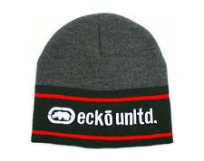 Ecko Unltd Men's Beanie OSFM pic color Dark Navy Charcoal Black