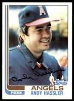 1982 Topps Baseball Andy Hassler California Angels #94