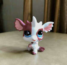 Littlest Pet Shop Custom OOAK LPS Dragon Dog PINK Hand Painted Figure