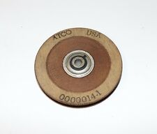 Atco 3 Inch Pulley, Sealed Ball Bearing, 3/16 Cable or So, New Old Stock.
