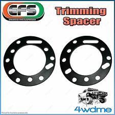 Mitsubishi Pajero NM 4WD Front EFS Strut Top Trimming Spacer Lifts 10-12mm Pair