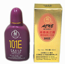 1 Bottle 101E Herbal Lotion great for ACNE Getaway 60ml facial red spots marks