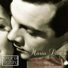 MARIO LANZA (ACTOR/SINGER) - STUDENT PRINCE & THE GREAT CARUSO NEW CD