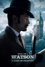 Sherlock Holmes poster (g) A Game Of Shadows movie poster - Jude Law