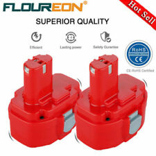 2X FLOUREON 14.4V 3000mAh Ni-MH Rouge Remplacement Rechargeable Batterie Pack FR