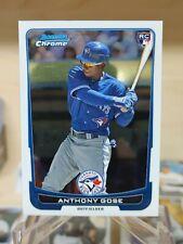 Anthony Gose RC - 2012 Bowman Chrome #52 - Toronto Blue Jays