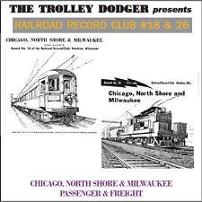 North Shore Line Trolley Audio on CD - Railroad Record Club #18 & 26