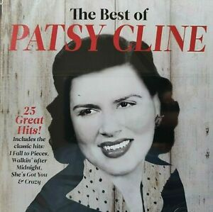 THE BEST OF PATSY CLINE BRAND NEW CD SEALED 25 GREATEST HITS BEST OF COUNTRY