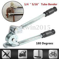 "1/4"" 5/16"" Tube Bender Plumbing Refrigeration Copper Aluminum Pipe 180° Degree"