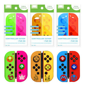 Joystick Caps Silicone Case Cover Skin Protector Accessories For Nintendo Switch