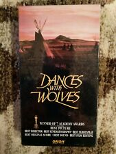 DANCES WITH WOLVES VHS UNOPENED NEW
