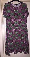 Asos Funky Print Flower Soft Boho Dress, Size 10 - Beautiful!