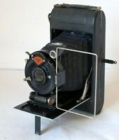 AGFA STANDARD 254 FOLDING CAMERA ROLL FILM 6X9CM with f6.3 10.5cm Lens Working