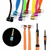 in - ear - ohrhörer schnürsenkel ohrhörer mit mikrofon metall - kopfhörer