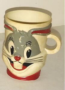 VIntage Bugs Bunny Looney Tunes Cup/Mug F&F Mold & Die Works Warner Brothers!