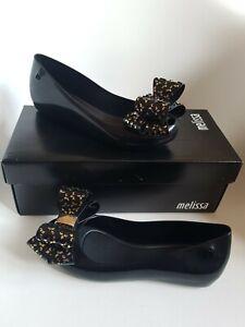 Melisa Vivienne Westwood  Womens Shoes Size 3 Eu 35 /36 Black