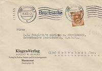 GERMANY TWO 1952 POSTHORN STAMP COVERS