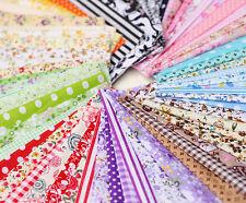 50pieces 10cmx10cm fabric stash cotton cloth packs patchwork quilting tissue