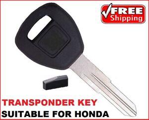 Transponder car key suitable for  HONDA Prelude CIVIC HR-V CRV Integra Legend