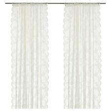 Sheer curtain panels 2 pair