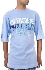 ROCAWEAR Hombre África EStrella Vacaciones Verano Camisetas Hip Hop G