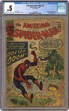 Amazing Spider-Man #5 CGC 0.5 1963 1241698001