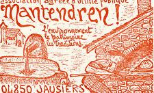 JAUSIERS Asso Utilé Publique MANTENDREN Environnement Patrimoine Four à pain