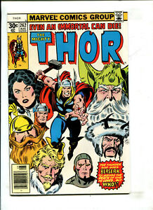 MIGHTY THOR #262 - EVEN AN IMMORTAL CAN DIE! (9.0) 1977