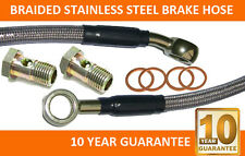 Braided stainless steel Brake Hose 67.5 cm long