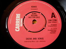 "SACHA and VENUS - VENUS    7"" VINYL DEMO"