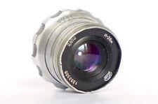 Industar-26M 2.8/50 silver lens for rangefinder M39 LTM mount USSR FED