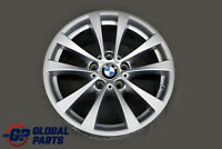 "BMW F30 F31 F32 F33 Rear Alloy Wheel Rim 17"" 8,5J ET:47 V-Spoke 395 6796245"